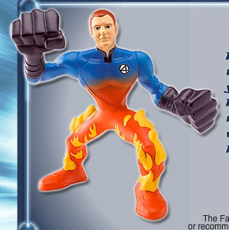 Burger King: Human Torch toy